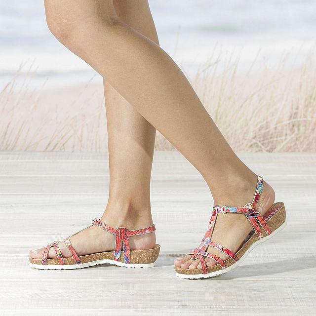 Dori Coral Napa Woman Footwear