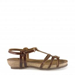 Dori Clay Cognac Pull-Up Damen Schuhmode