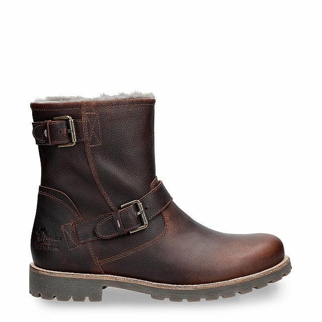 Faust Igloo Chestnut Napa Grass Man Footwear