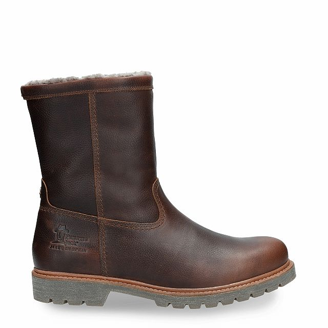 Fedro Igloo Chestnut Napa Grass Man Footwear