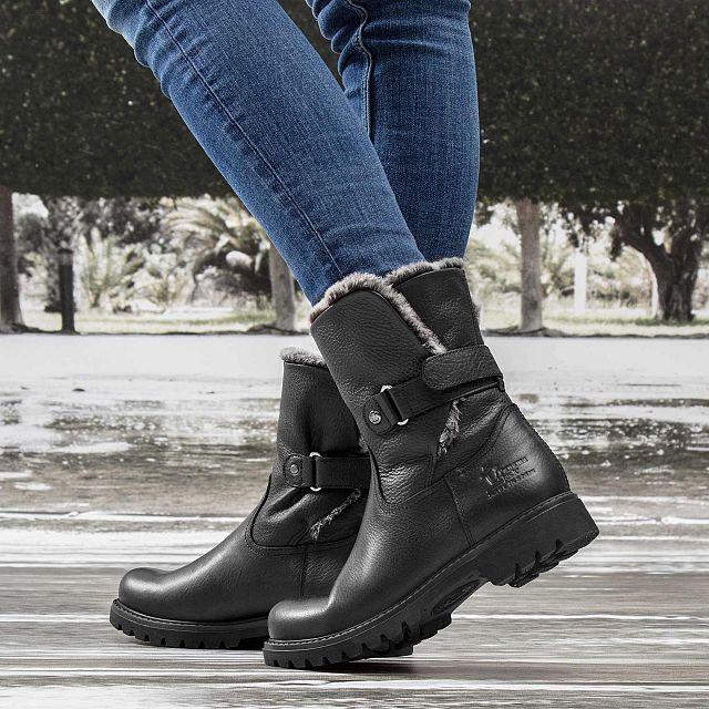 Felia Black Napa Grass Woman Footwear