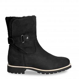 Felia Igloo Black Nobuck Woman Footwear