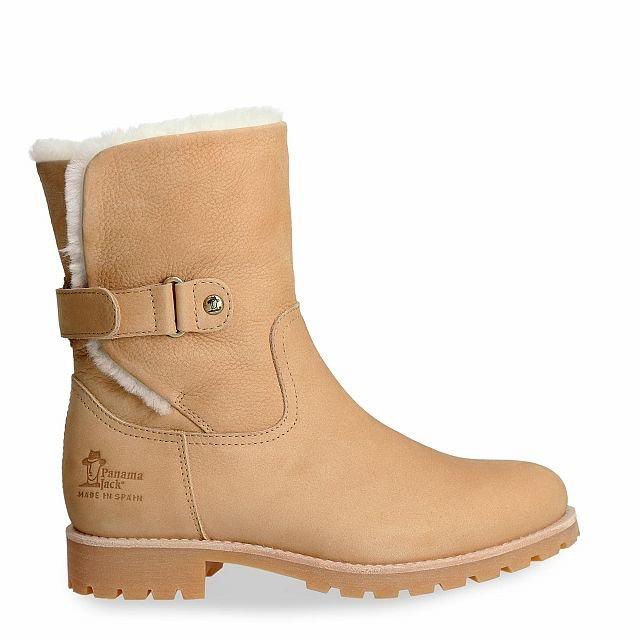 Panama Jack Felia Igloo Natural Nobuck Woman Footwear