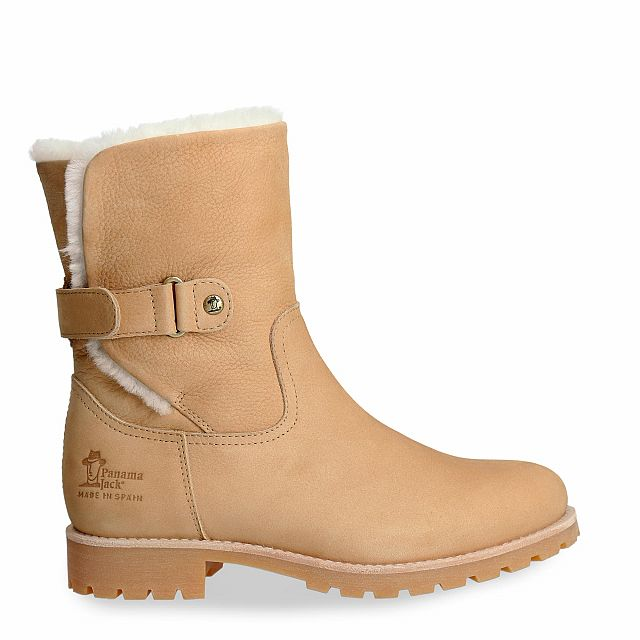Panama Jack Felia Igloo Natural Nobuck Woman