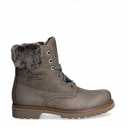 Felicia Grey Nobuck Woman Footwear