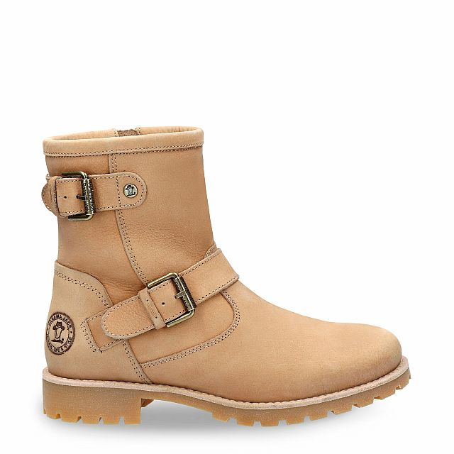 Felina Igloo naturel Nubuck Dames Schoeisel