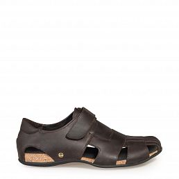 Fletcher Basics Brown Napa Grass Man Footwear