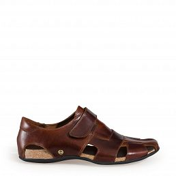 Fletcher Clay Bark Pull-Up Man Footwear