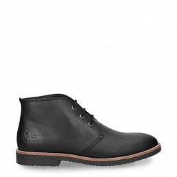 Gael Black Napa Grass Man Footwear