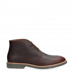 Gael Chestnut Napa Grass Man Footwear
