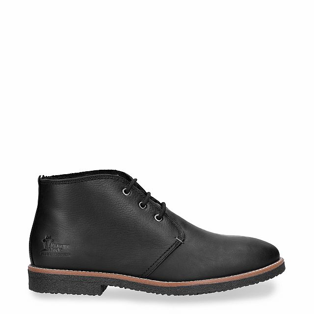 Panama Jack Gael Igloo Black Napa Grass Man Footwear