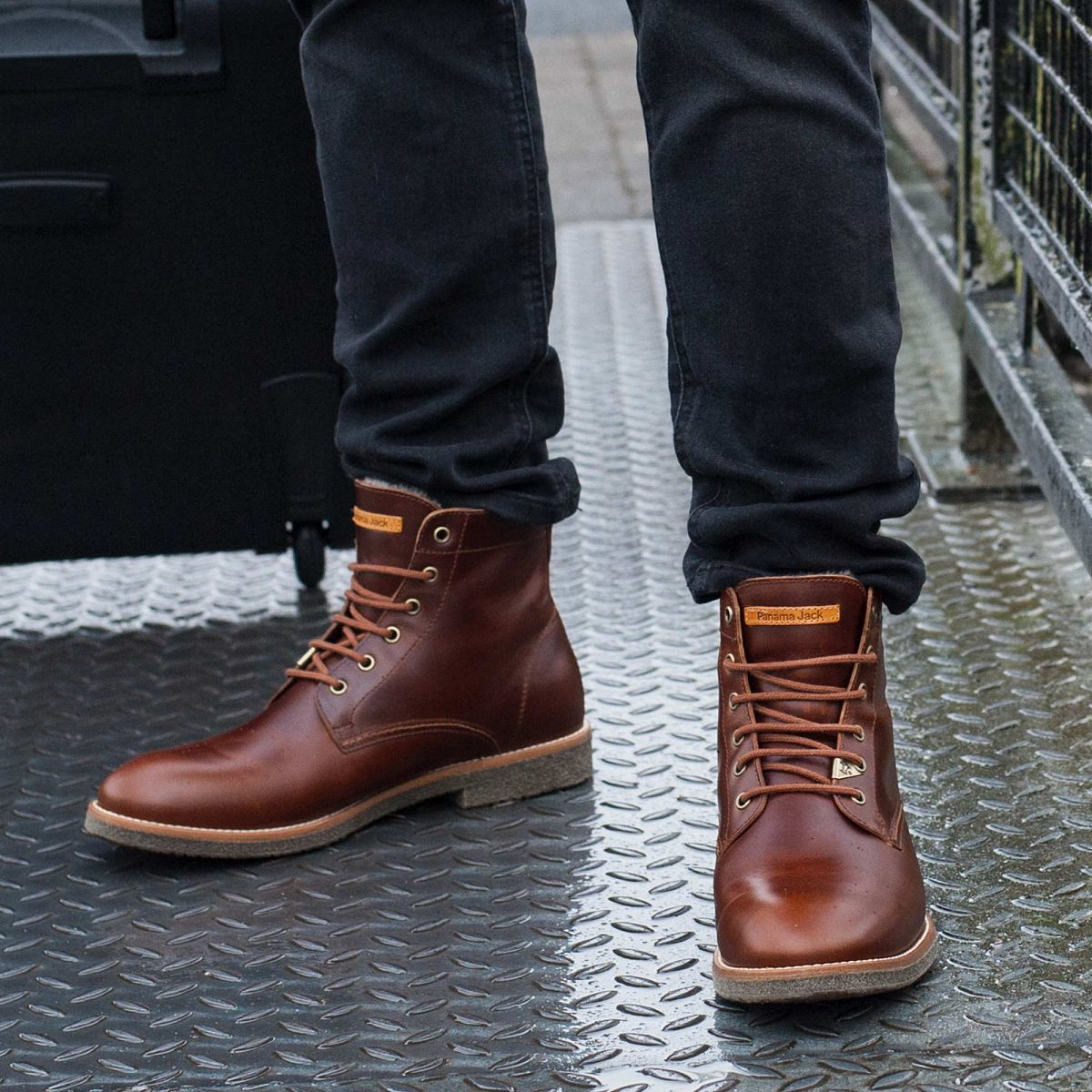 Men s ankle boot GLASGOW IGLOO natural  777a6e55676