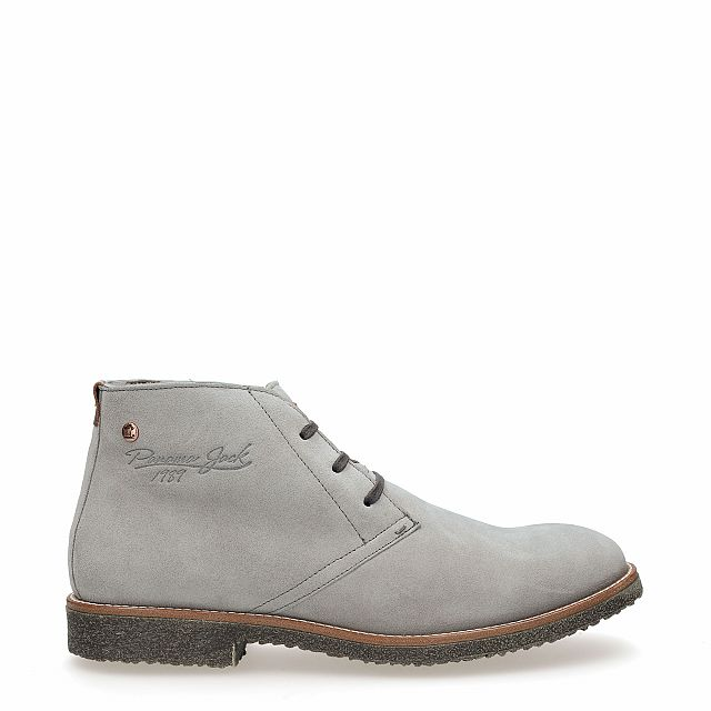 Gunter Igloo Grey Velour Man Footwear