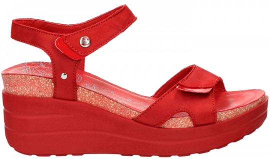 Hawaii Basics Red Nobuck