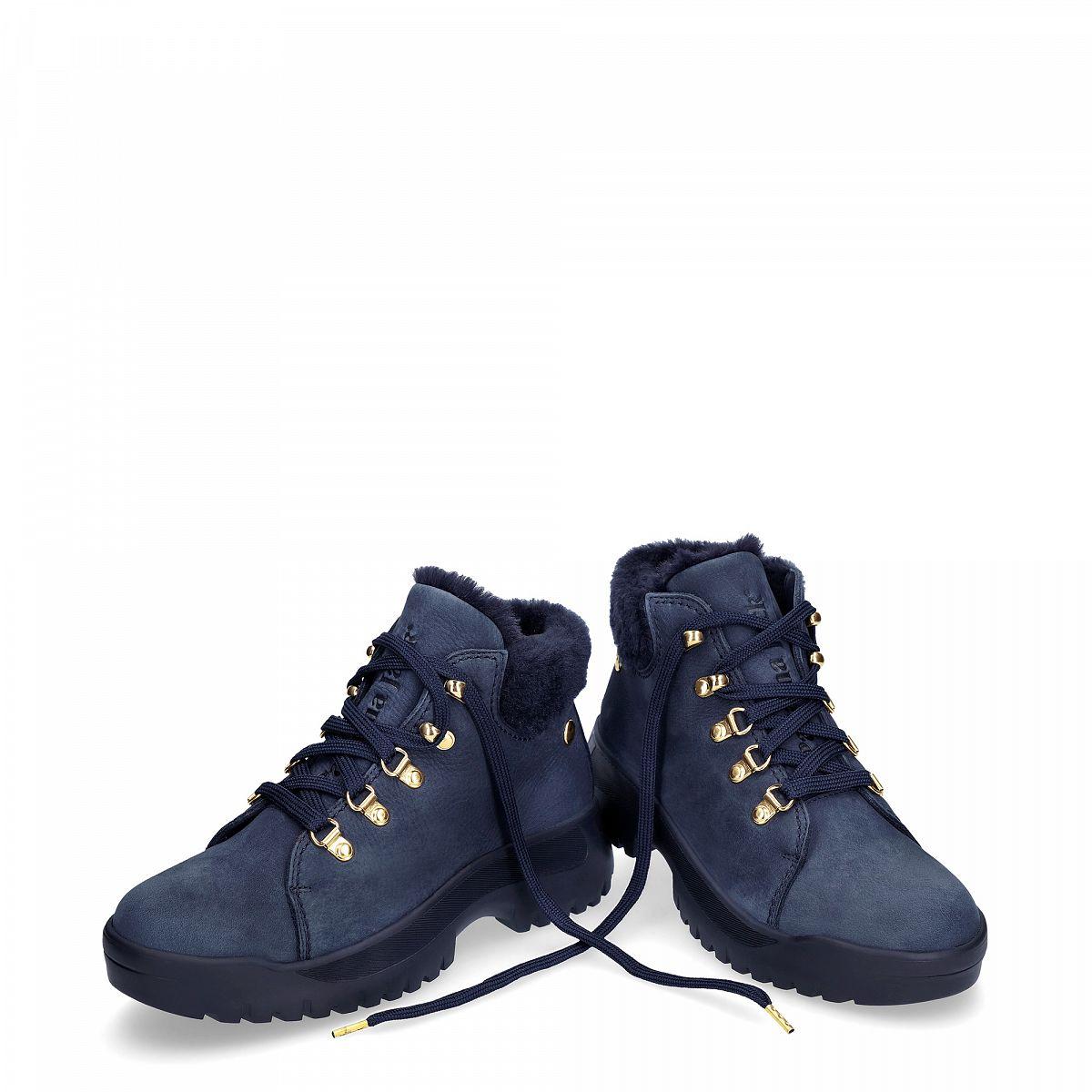 Hellen Navy blue Nobuck