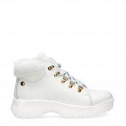 Hellen White Napa Woman Footwear