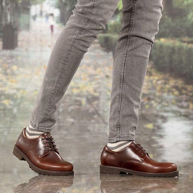 Jackson Cuero Pull-Up Hombre Calzado