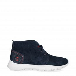 Jacob Navy blue Velour