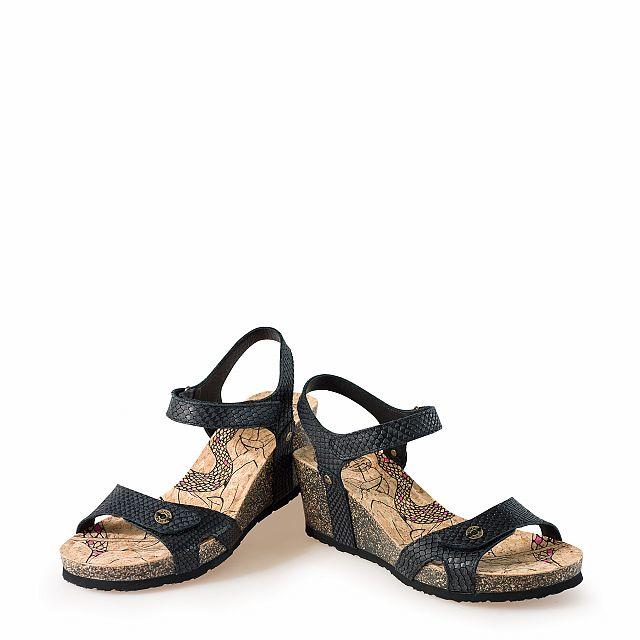 Panama Jack Julia Negro Napa Mujer Calzado