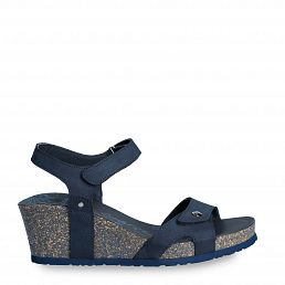 Julia Basics Navy blue Nobuck Woman Footwear