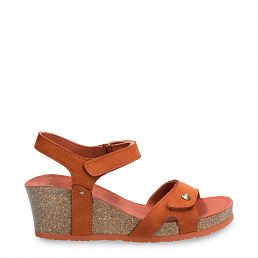Julia Basics Terracotta Nobuck
