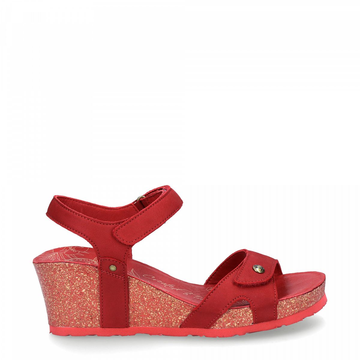 Julia Basics Red Nobuck