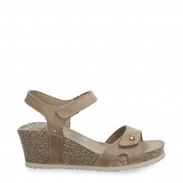 Julia Basics Taupe Napa Grass Woman Footwear