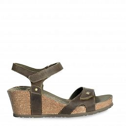 Panama Jack Julia Basics Khaki Napa Grass Woman Footwear