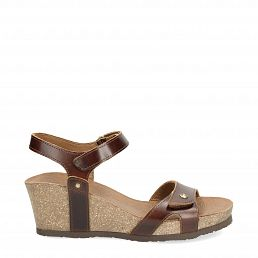 Panama Jack Julia Clay Cognac Pull-Up Damen Schuhmode