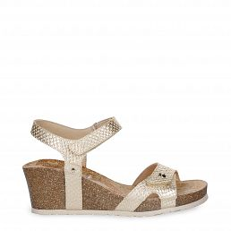 Julia Malibu Golden Napa Woman Footwear