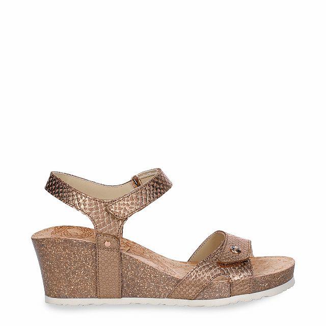 Julia Malibu Bronze Napa Woman Footwear