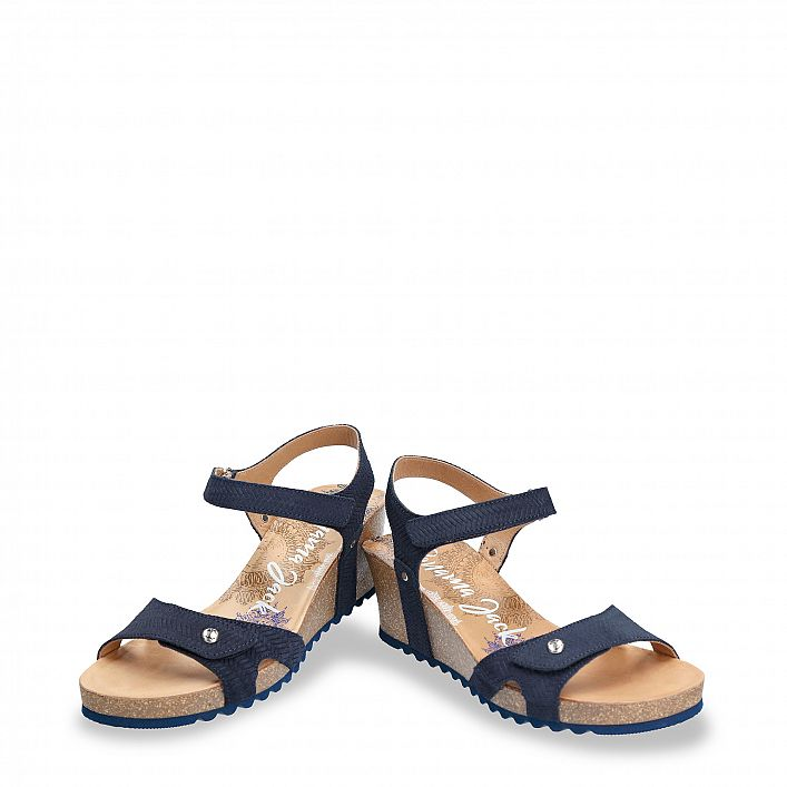 Julia Menorca Navy blue Velour