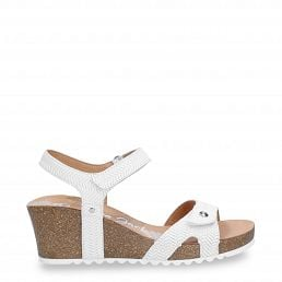 Julia Menorca White Napa Woman Footwear