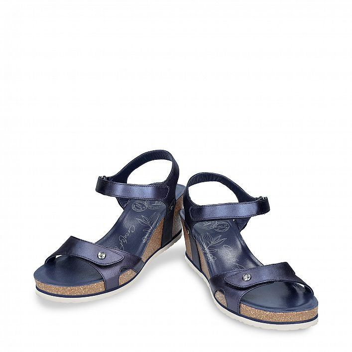 Julia Shine Navy blue Napa