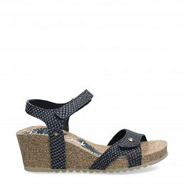 Julia Snake Navy blue Napa Woman Footwear