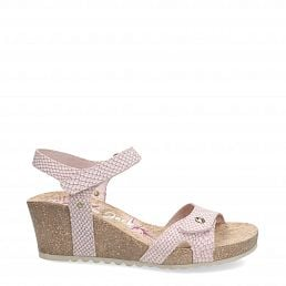 Julia Snake Pink Napa Woman Footwear