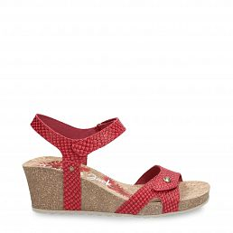 Panama Jack Julia Snake Red Napa New-in-woman-summer