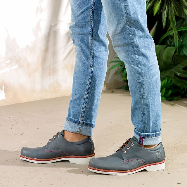 Kito Blue Jeans Nappa Heren Schoeisel