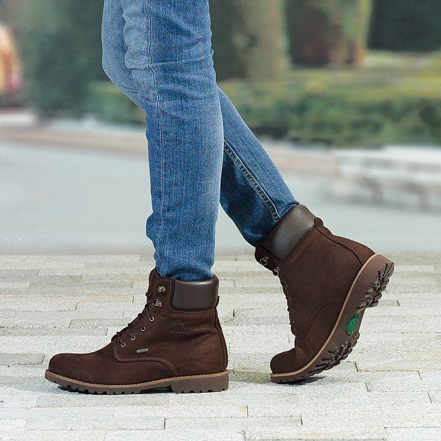 Panama Jack Lindel Gore-tex Brown Nobuck Man Footwear