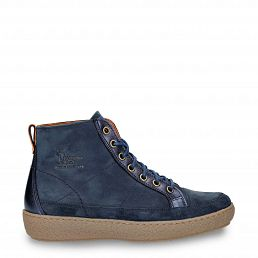 Panama Jack Mabel Navy blue Nobuck Woman