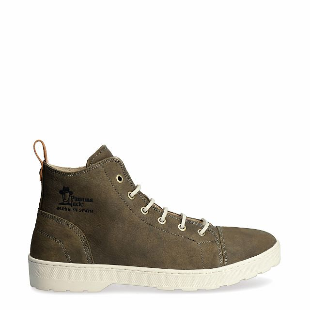 Manhattan Kaki Nubuck New-in-heren-zomer