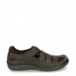 Meridian Basics Brown Napa Grass Man Footwear