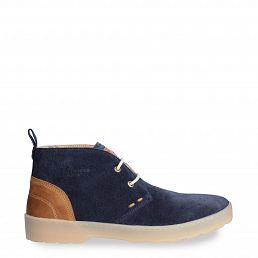 Michel Navy blue Velour New-in-man-summer