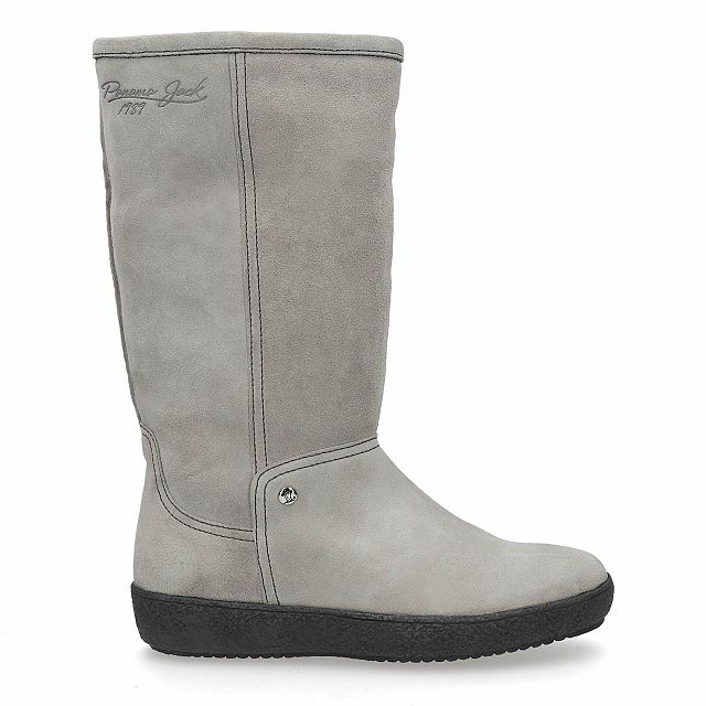 Mirabella Grey  Velour Woman Footwear