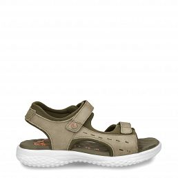 Nilo Khaki Nobuck New-in-woman-summer