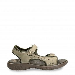 Nilo Basics Khaki Napa Grass Woman Footwear