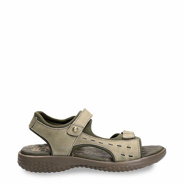 Nilo Basics Khaki Napa Grass Woman Footwear