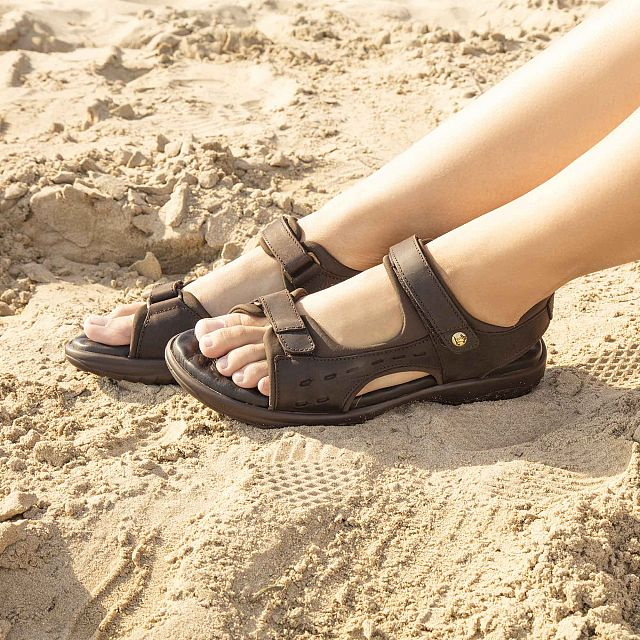 Nilo Basics Brown Napa Grass Woman Footwear