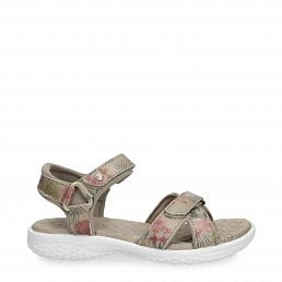 Noja Tropical Beige Napa Woman Footwear