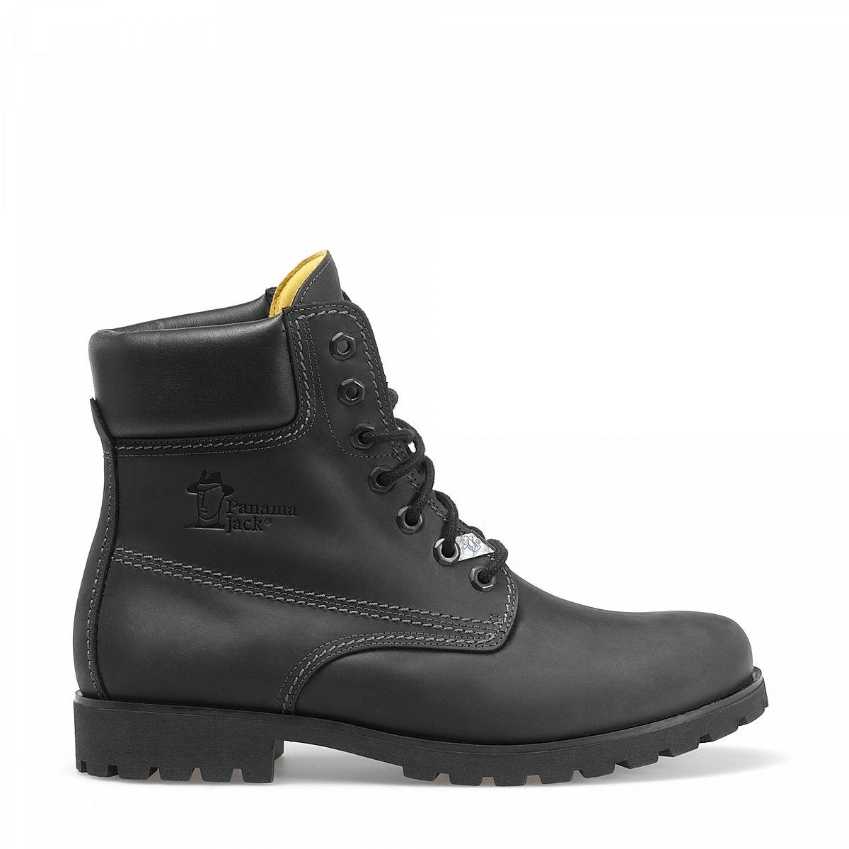 mens boots panama 03 black panama jack official shop. Black Bedroom Furniture Sets. Home Design Ideas